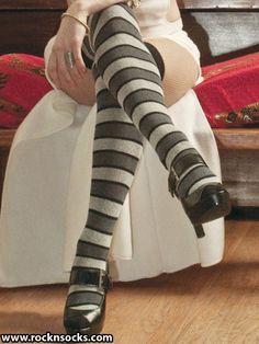 16495a9bd26 Maya Striped. Comfy SocksSexy SocksCotton SocksFunky FashionOver Knee ...