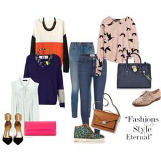 Get the Look by feotturi on Polyvore featuring moda, H&M, Topshop, Chloé, Paige Denim, Alexander Wang, Paloma Barceló, Aquazzura, Kate Spade and Michael Kors