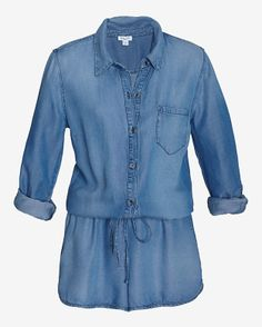 ac37facbaa2d New Designer Clothing for Women. Denim RomperPlaysuit ...