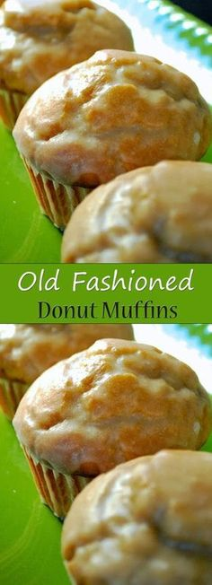 Old Fashioned Donut Muffins - TRIED: These are really good. Recipe made 20 muffins, though, not Maybe less if you fill the cups to the top? Muffin Tin Recipes, Donut Recipes, Cooking Recipes, Vanilla Recipes, Cake Recipes, Cooking Eggs, Muffin Tins, Egg Recipes, Kitchen Recipes