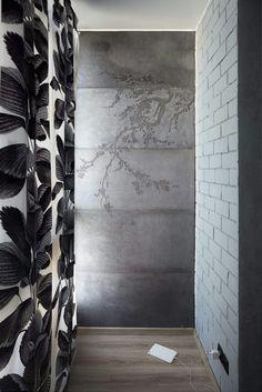 Рельефный узор на бетонных панелях
