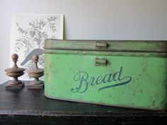 Old bread boxes are my favorite kitchen accessory.