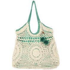 Sac façon macramé pour l'été, issu de la marque Star Mela. Nouvelle collection de sacs et pochettes tendance à découvrir chez by Johanne
