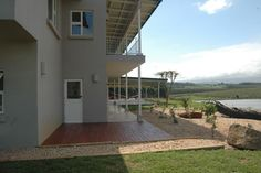 the spec house veranda and view