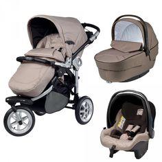 poussette trio 3 roues cam cortina x3 tris evolution panna. Black Bedroom Furniture Sets. Home Design Ideas