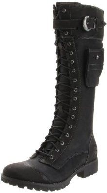 Timberland Women's Earthkeepers Atrus Knee-High Boot, cute with skinny jeans and a black leather jacket Mode Outfits, Grunge Outfits, Cute Shoes, Me Too Shoes, Gothic Fashion, Mens Fashion, Fashion Shoes, Fashion Outfits, Timberlands Women