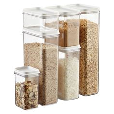 Narrow Stacking Canisters
