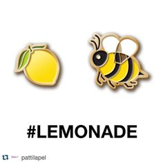 #Repost @pattilapel  Our newest pin set is not fucking around. $16 for the set. It's a pre-order but get one before they're gone for good. Available RIGHT NOW at PattiLapel.com. #Lemonade #Beyonce