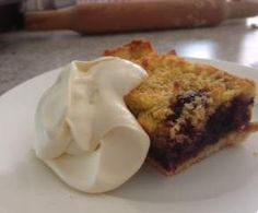 Recipe mulberry coconut slice by thermo-envy - Recipe of category Baking - sweet