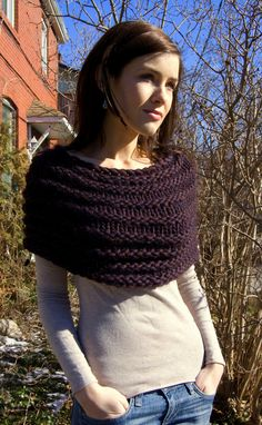 I want this caplet! I've never made one.