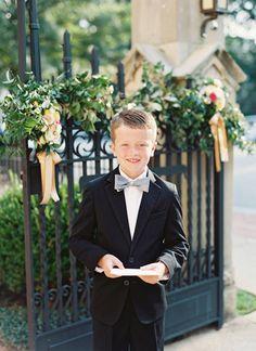 bow tie ring bearer | Landon Jacob