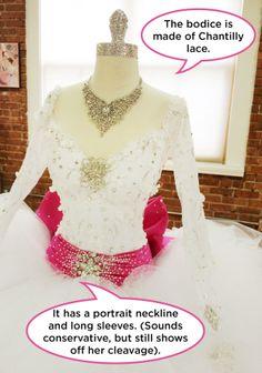Tara's Bridal Bling Pop-Up Pictures: Photos: TLC #MBFAGW