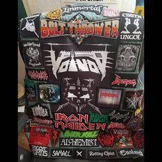 Todd from USA #battlejacket #metalpatches #metaljacket #kutte #bandpatch #bandpatches #battlevest #heavymetal #thrashmetal #denimjacket #patchedvest #deathmetal #metalpatches #metal #wovenpatch #metalmaniacs #metalmaniac #metalvest #metalkutte #metalhead #metalheads #slayer #ironmaiden #venom #testament #vader
