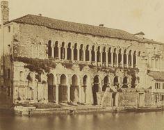 Forunato Antonio Perini - Fondaco dei Turchi or The Turks' Inn, Venice, 1860