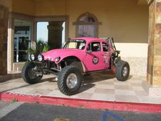One day I will have my own pink baja bug