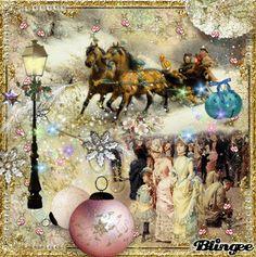 Vintage Victorian Sleigh Ride   my Art   Jane's Doll Closet