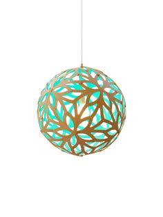 DAVID TRUBRIDGE Floral  #lamp #leuchte #design #wood #holz