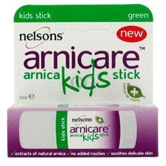 With toddlers prone to bumps and bruises, a hand-bag essential is Arnica Kids Stick, made with the natural Alpine flower Arnica Montana to prevent bruising after a fall or knock.