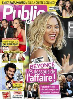 Cette semaine en couverture de Public : Beyoncé et Barack Obama, les dessous de l'affaire !