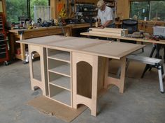 Build a Cutting Table | sherry found a cutting table for her quilting studio the third bedroom ...