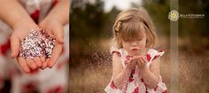 Pretty sparkles for a little girl's photo shoot