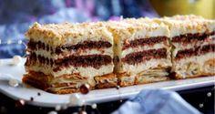 Kliknij i przeczytaj ten artykuł! Baby Food Recipes, Sweet Recipes, Cake Recipes, Dessert Recipes, Cooking Recipes, Polish Desserts, Polish Recipes, How Sweet Eats, No Bake Cake