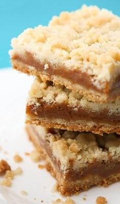 These salted caramel butter bars are seriously WOW. -
