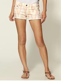 I could handle printed denim shorts...