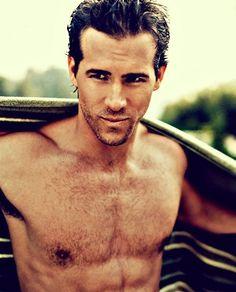 Ryan Reynolds.  Pardon my saliva... fangirling