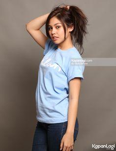 Vanesha Prescilla Indonesian Girls, Haircut And Color, Beauty Full, Celebs, Celebrities, Selena Gomez, Beautiful Women, Actresses, T Shirts For Women