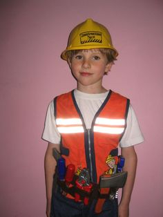 DIY Halloween Costume Bob the Builder  sc 1 st  Pinterest & Bob the builder u0026 Wendy costumes - maybe I can rock the Wendy ...