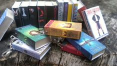 Miniature Book Charms - You choose the books you want