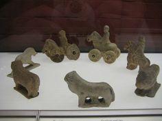 Roman clay toys