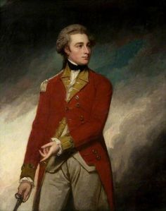 Lieutenant Colonel Sir Charles Stuart (1753–1801) by George Romney, 1779. Glasgow Museums.