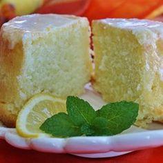 Lemon-Buttermilk Pound Cake with Aunt Evelyns Lemon Glaze - Allrecipes.com