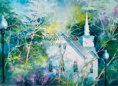 """See the Light"" - Painting by Beth Verheyden"