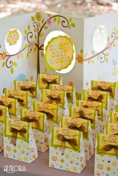 Baby shower in the summer owl themed