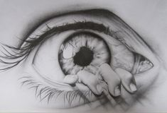 Drawings of Eyes   the eye drawing by charlottexbx fan art traditional art drawings ...