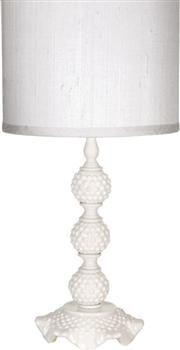 White Baby Nursery Table lamp