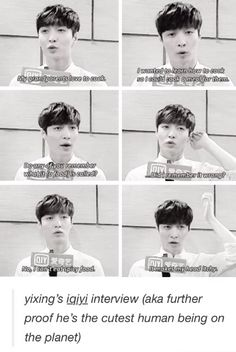 Lay has to be one of the cutest people alive. WHO SCRATCHES THEIR IF THEY EAT SPICY FOOD? Lay that's who.