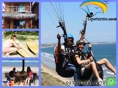 Tour de Aventura  Ven con tus amigos y disfruta de un vuelo dinamico en parapente con instructores certificados, luego aprende surf , una clase basica y al fin del dia relajarte en un hospedaje frente al mar.