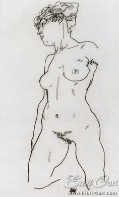 Female Nude, Kneeling