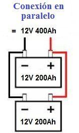 Conexion paralelo de baterías