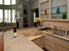 Custom french-hammered counter by Focal Metals