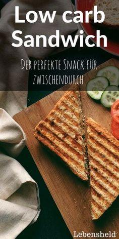Low carb Sandwich - Sehr einfach und super lecker