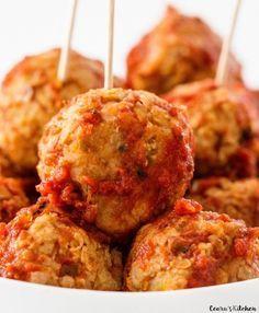 Incredibly Easy Vegan Chickpea Meatballs More