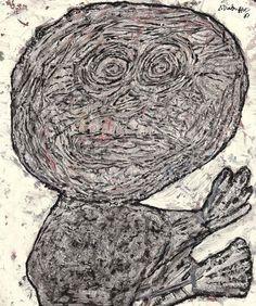 Jean Dubuffet's L'Erratique, 1966.