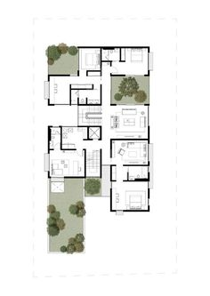 Box House,First Floor Plan