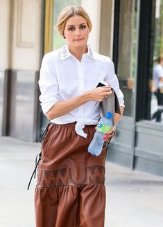 Olivia Palermo Photos: Olivia Palermo Spotted Out in NYC