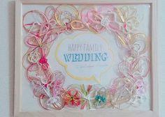 勿体なくて捨てられないから!ご祝儀袋の『水引』の可愛すぎるリメイク方法*のトップ画像 Wedding Paper, Diy Wedding, Happy Family, Colorful Fashion, Handicraft, Red And White, Diy And Crafts, Wedding Planning, Wedding Decorations